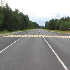 В Курганской области досрочно отремонтировали 16 км трассы Р-354