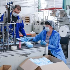 ТПП просит ввести заградительные пошлины на маски из Китая