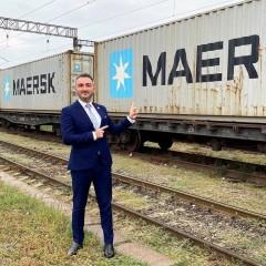Maersk запустил новый железнодорожный контейнерный сервис в Грузию
