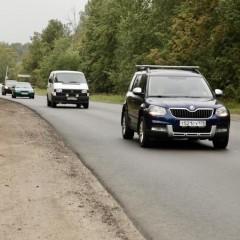 Подъезд к Красносельскому району в Ленинградской области
