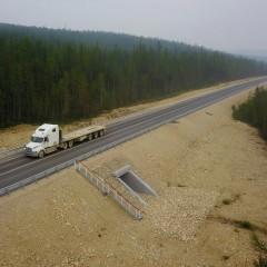 В Якутии заасфальтировали еще четыре участка трассы А-360 «Лена»