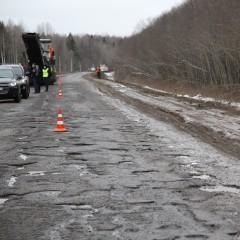 На ремонт дороги между Вологодской областью и Коми нужно 1,2 млрд. рублей