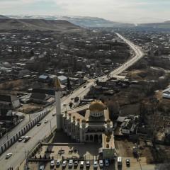Участок трассы А-155 в Карачаево-Черкесии расширили до четырех полос