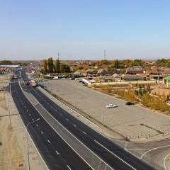 В Чечне до четырех полос расширили участок трассы Р-217 «Кавказ»