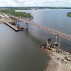 Новый мост через Свиягу на трассе М-7 в Татарстане откроют в 2023 году
