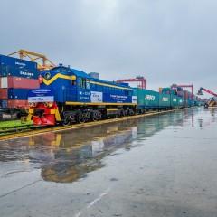 FESCO запускает контейнерный поезд из Екатеринбурга в Санкт-Петербург