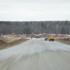 В Череповце завершили первый этап строительства моста через Шексну