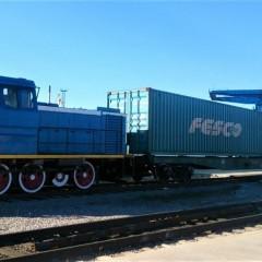 FESCO запускает контейнерный поезд из Хабаровска во Владивосток