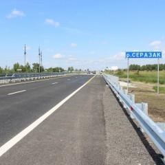 На трассе М-5 в Челябинской области отремонтировали мост через Серазак