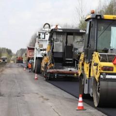 В Вологодской области приступили к ремонту участка трассы А-114