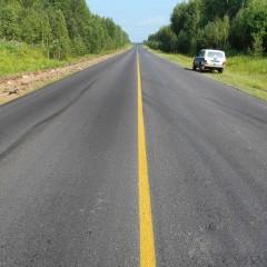 Участок дороги между Сургутом и Нижневартовском отремонтируют