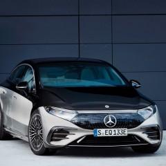 Daimler презентовал первый полностью электрический седан Mercedes-Benz
