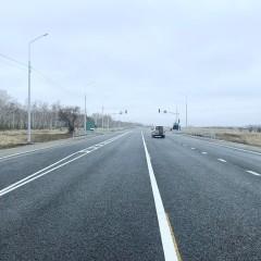В Омской области отремонтировали 100 км федеральных трасс