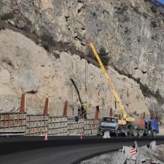 Участок «Транскама» в Северной Осетии защитят от камнепадов