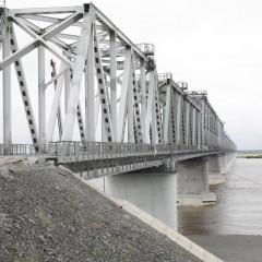 Первый поезд по мосту «Нижнеленинское-Тунцзян» проедет в августе
