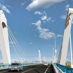 В Благовещенске начали бетонировать фундамент нового моста через Зею
