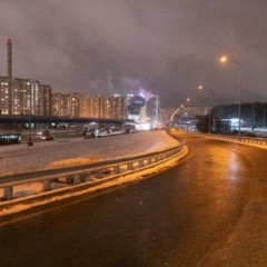 В Красногорске открыли разворотную эстакаду в районе Павшинской поймы