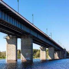 3 августа на трассе Р-21 «Кола» разведут Ладожский мост