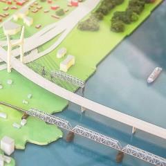 На изъятие земельных участков для моста в Новосибирске выделено 1,2 млрд. рублей