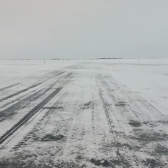 В ЯНАО открыли для движения участок зимника от Аксарки до Панаевска
