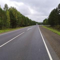 В Красноярском крае отремонтировали более 20 км федеральной трассы Р-255 «Сибирь»