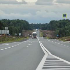 В Вологодской области началось расширение участка трассы А-114