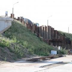 В Санкт-Петербурге приостановлена реконструкция двух путепроводов