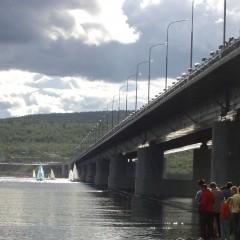 Мост через Кольский залив в Мурманске