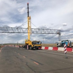 В Забайкальском крае реконструируют подъезд к МАПП «Забайкальск»