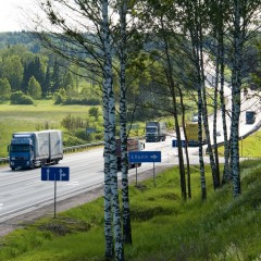 Грузооборот автомобильного транспорта за 9 месяцев вырос на 5,8%