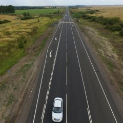 На федеральных трассах в Ульяновской области установят более 14 км линий освещения
