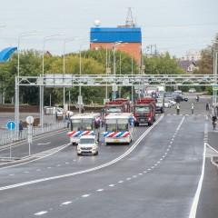 В Тюмени на год раньше срока открыли транспортную развязку