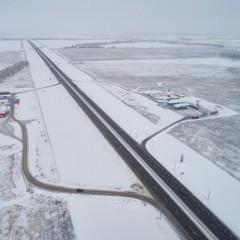 На участках трасс М-1 и М-4 вводят зимний скоростной режим