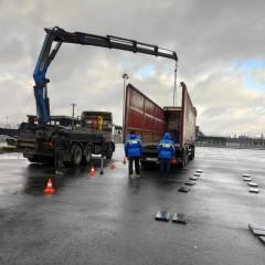 В РосДорНИИ протестировали датчики осевой нагрузки для грузовиков