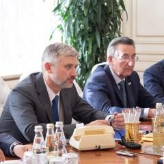 В Министерстве транспорта обсудили развитие транспортной инфраструктуры Мордовии