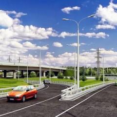 В Москве реконструируют развязку на пересечении МКАД с Алтуфьевским шоссе