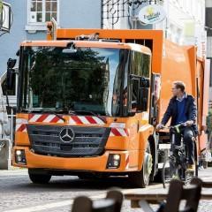 Daimler выпустит электрический мусоровоз