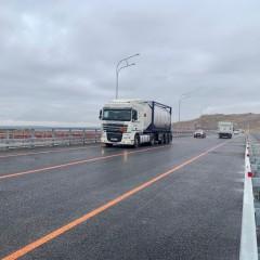 В Татарстане открыли рабочее движение по новому мосту через Свиягу