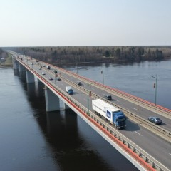 Движение на Ладожском мосту будет ограничено до 11 октября
