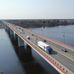 Ладожский мост на трассе «Кола» будут разводить по ночам