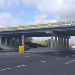 На трассе Р-158 в Пензенской области построили новый путепровод