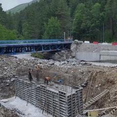 В Эльбрусском районе КБР до конца года восстановят три поврежденных моста