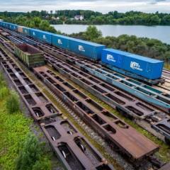 Средняя скорость доставки транзитных контейнеров РЖД превысила план
