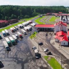 Пункт пропуска «Каменный Лог» на белорусско-литовской границе