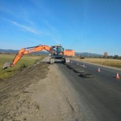 В Забайкальском крае сдали первую дорогу, отремонтированную по национальному проекту
