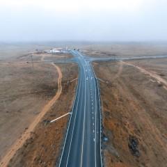 Грунтовый разрыв на федеральной трассе «Астрахань-Махачкала» в Калмыкии полностью ликвидируют до конца 2020 года