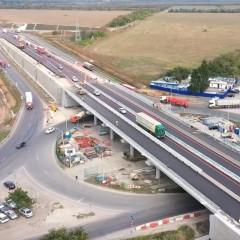 На трассе М-4 «Дон» открыли новый путепровод над Сальским кольцом