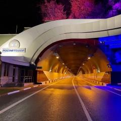 На обходе Сочи после капитального ремонта открыли Мамайский тоннель