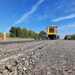 В Кемеровской области построили и отремонтировали почти 350 км дорог