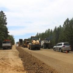 Капитальный ремонт трассы А-350 в Забайкальском крае